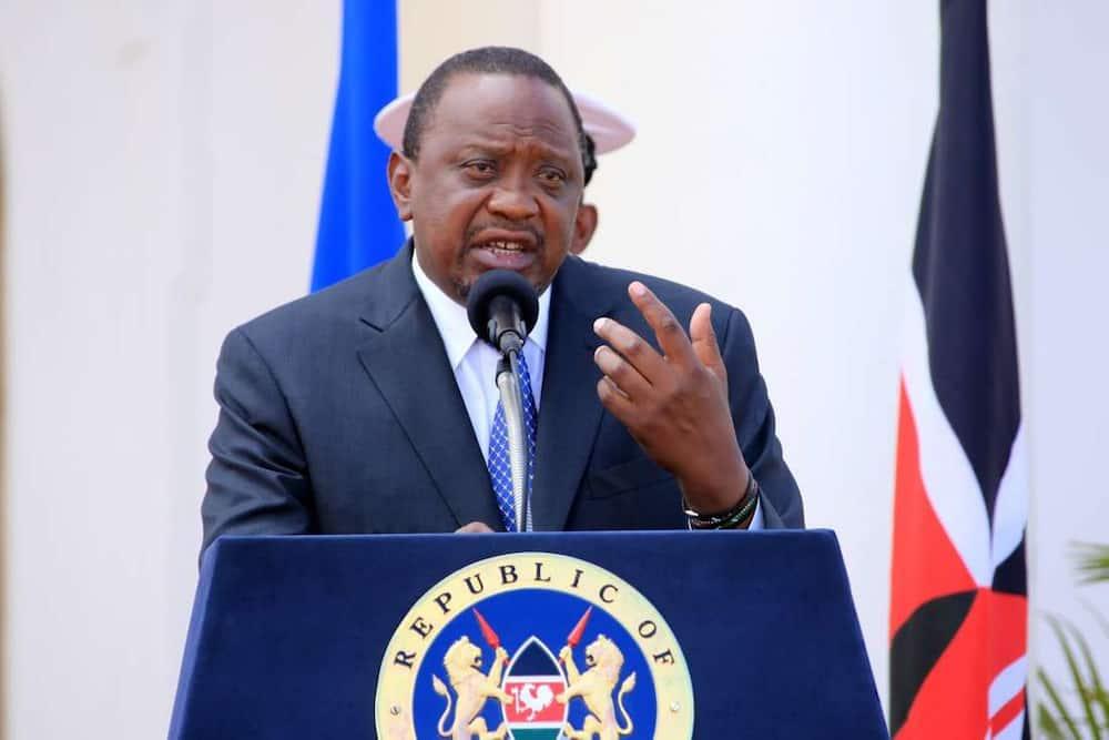 President Uhuru Kenyatta in a past address. Photo: State House Kenya.