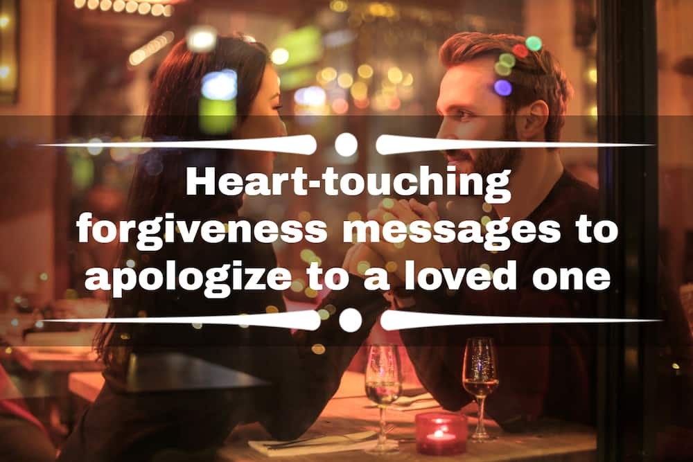 forgiveness messages