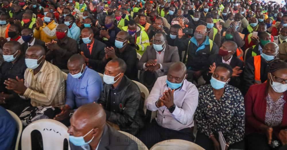 Uhuru, Raila donate KSh 3 million for boda boda riders during Kisii tour