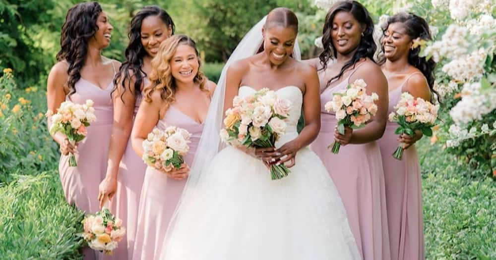 Issa Rae is married. She had a beautiful ceremony in France. Photo: Issa Rae.