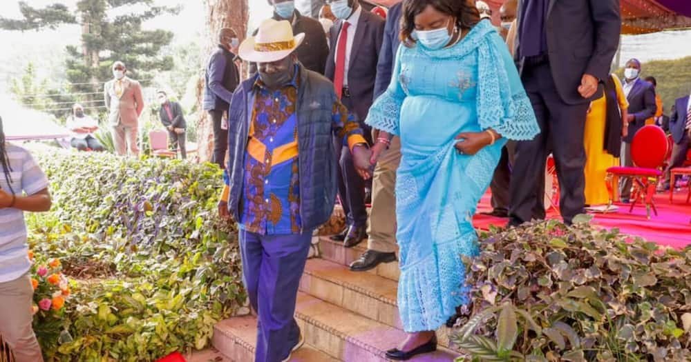 Raila and Ida were commended for keeping the spark alive.