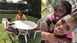 Caroline Mutoko Cutely Builds Individual Relationships with Kids During Separate Hangouts