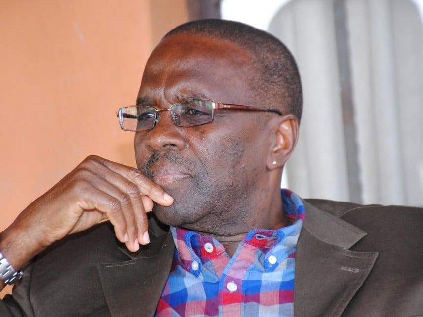 Willy Mutunga's son celebrates dad's birthday with cute photos of former CJ in his youth