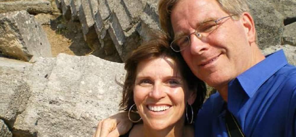 Anne Steves and Rick Steves
