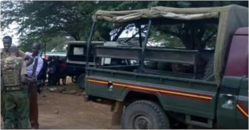 Garissa: 3 armed Somali police officers arrested hiding at refugee camp
