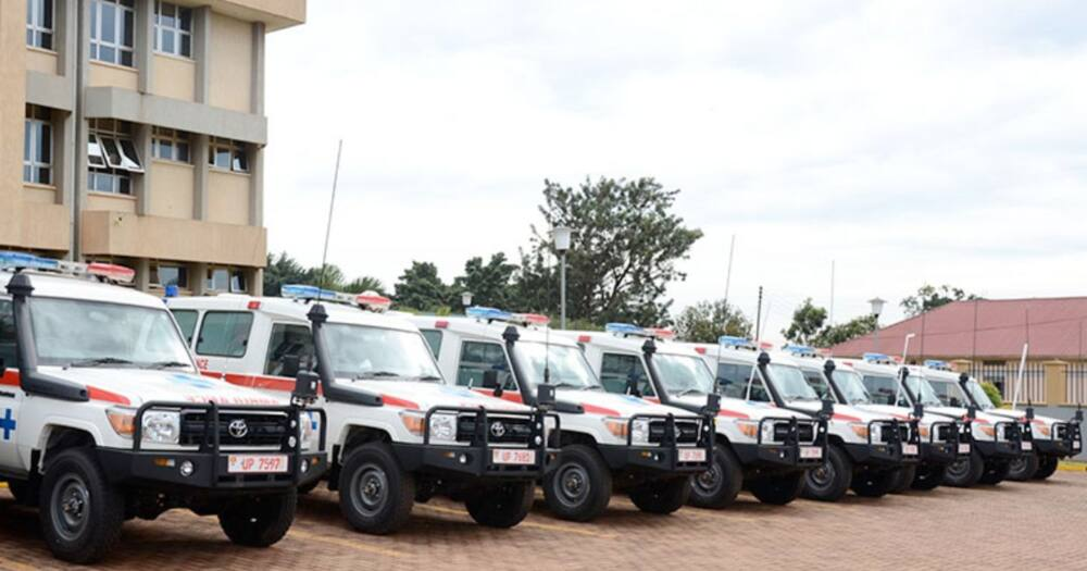 Puzzle as KSh8m Ambulance Disappears from Hospital Compound Without Ignition Key