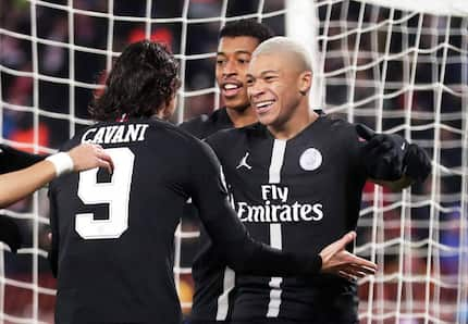 Ruthless PSG demolish Red Star Belgrade to storm Champions League last 16