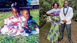 TV Host Joyce Omondi Introduces Cute Brother in Lovely Social Media Post