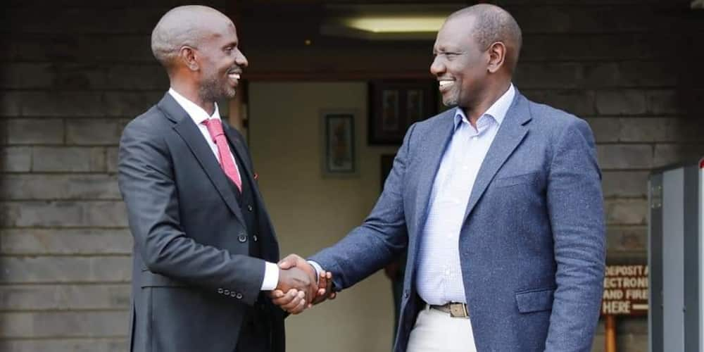 Wilson Sossion Avuka Daraja, Ahamia Kambi ya DP William Ruto