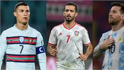 Arabian Striker Ranked Ahead of Messi, Now Behind Ronaldo In Most International Goals Scored