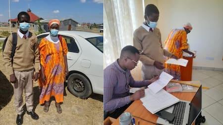 Babu Owino Comes Through For Needy Student, Helps Him Join Utawala Secondary School