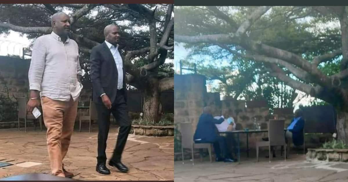 Moses Kuria Amhepa DP Ruto, Akutana na Wapinzani Wake Kisiri ▷ Kenya News