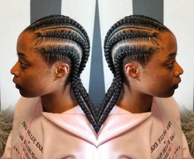 big cornrow hairstyles