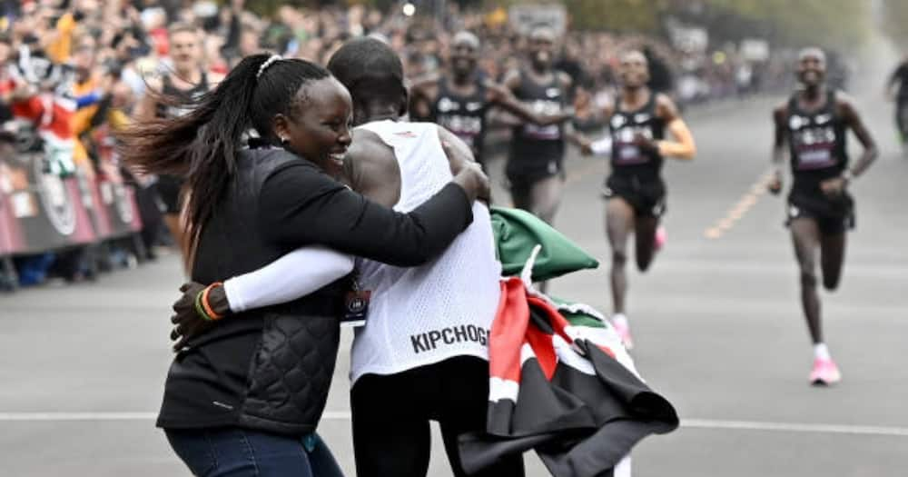Eliud Kipchoge earned about KSh 1 billion in income from the INEOS Challenge.