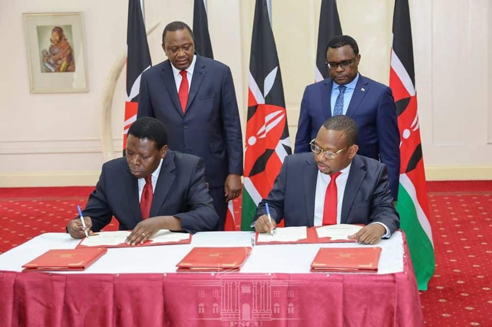 Mike Sonko now claims State house served him liquor before he signed Nairobi takeover deal
