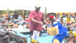 William Ruto Hands KSh 100k to Laikipia Woman Who Entertained Him With Vigorous Dance