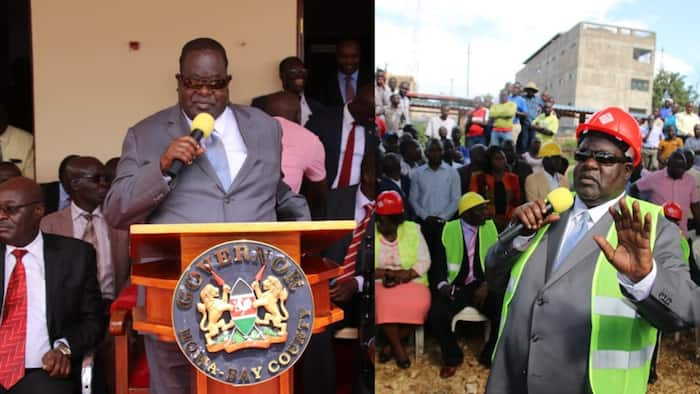 Homa Bay: Governor Cyprian Awiti confirms he had lost eyesight temporarily but has recovered
