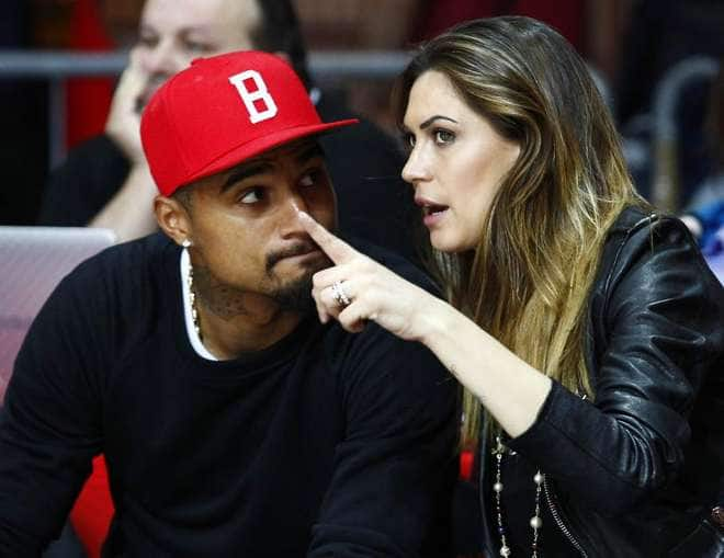 Kevin Prince Boateng's wife dispels divorce rumours