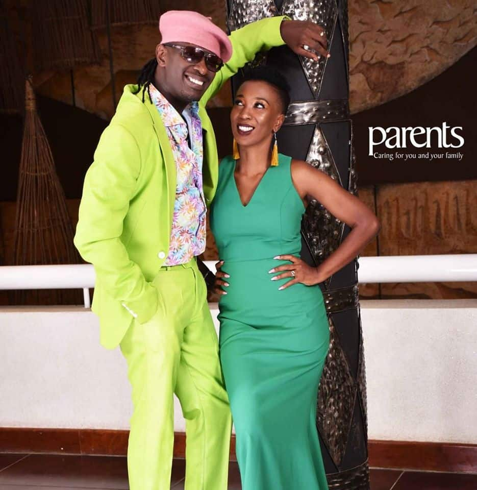 Nameless shows off his exquisite sitting room as he complains of daughter Nyakio's visitors