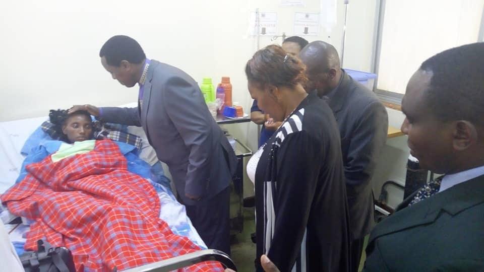 Bishop Harrison Ng'ang'a holds prayers, crusade for patients at Kenyatta National Hospital