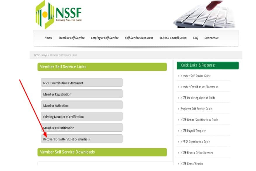 How to check your NSSF number online