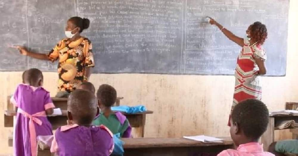 Baringo: Video of PP1 and Class 8 pupils being taught in same room sparks debate
