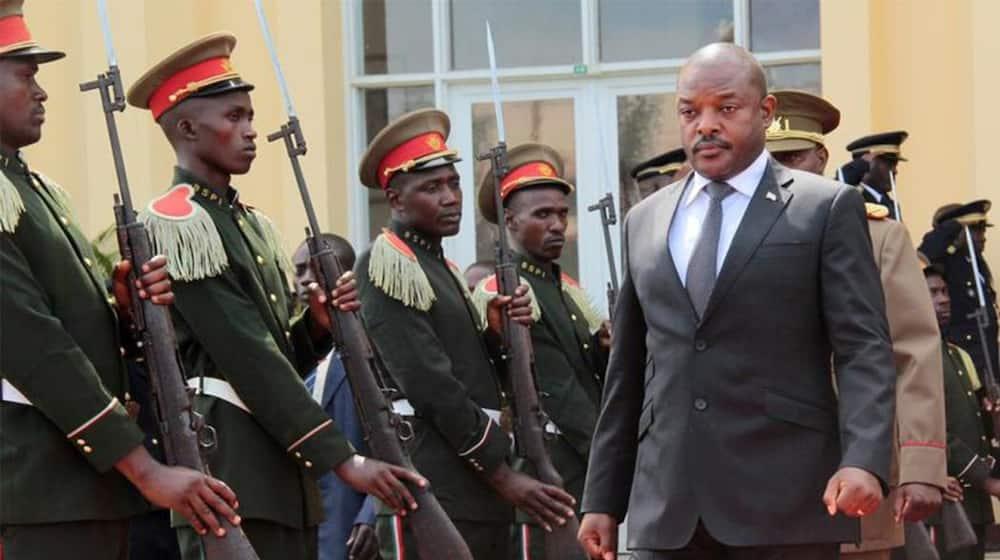Rais wa Burundi Pierre Nkurunziza ameaga dunia