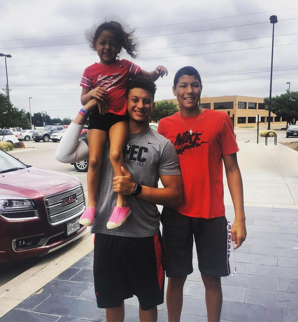 Patrick Mahomes family