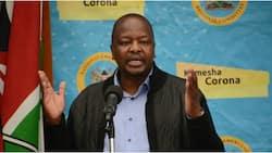 "Mutahi Kagwe Blames Baby Showers on High COVID-19 Cases among Children: ""Tuma M-Pesa Tu"""
