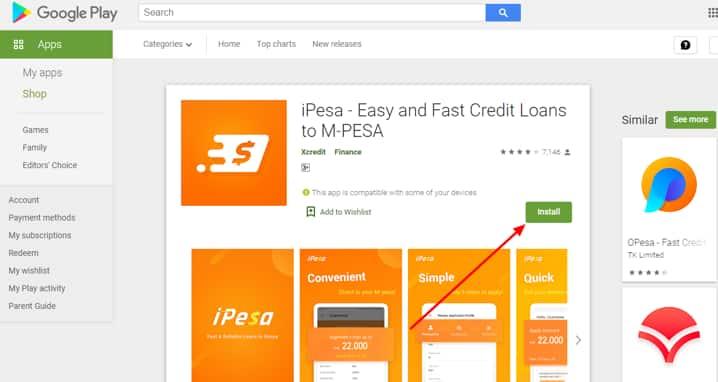 iPesa loan