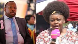 Kenyans scold Sonko for asking Millie Odhiambo to give birth to understand mothers' pain