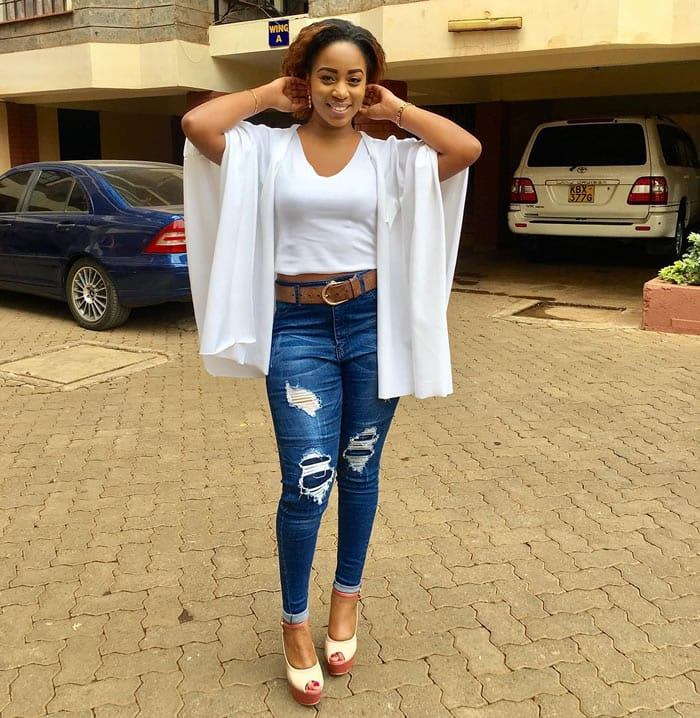 Singer Bahati's wife Diana Marua narrates how she found boyfriend cheating the day she met the singer