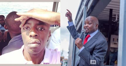 Raila Junior taunts Moses Kuria after claiming his life is in danger