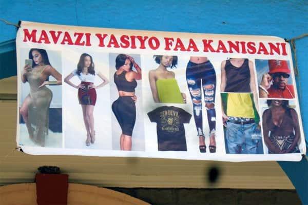Nairobi: Catholic church warns congregants against wearing miniskirts, rugged jeans