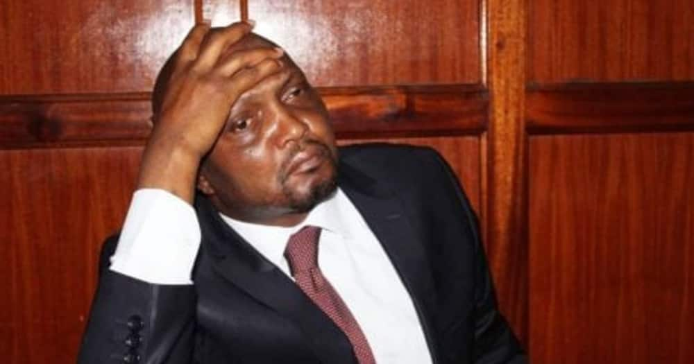 Moses Kuria had obtained an order warranting his release but the officers disregarded it.