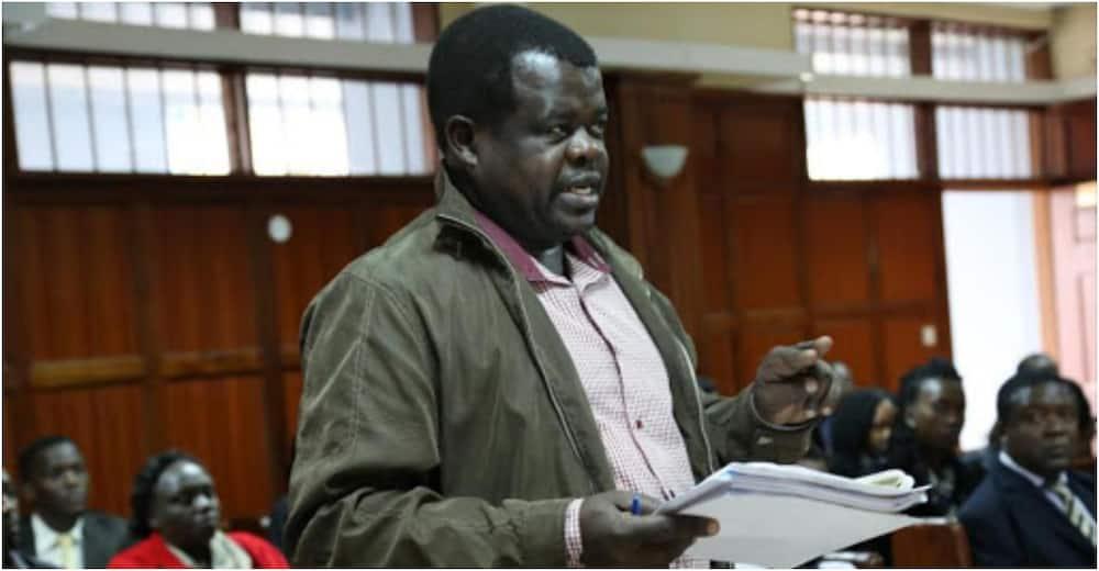 Okiya Omtatah in court to block DCJ Philomena Mwilu from taking over David Maraga's position