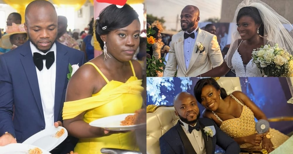 Ghanaian couple.