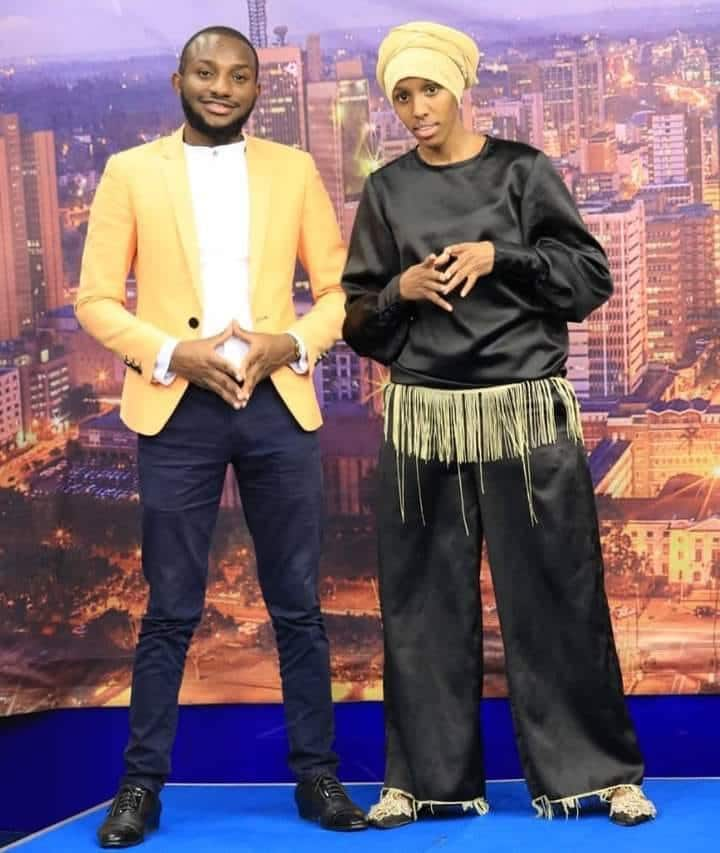 Comedian Nasra hilariously makes fun of Lulu Hassan, Rashid's identical outfits