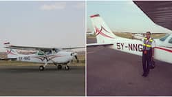 Marsabit woman celebrated for completing first solo flight