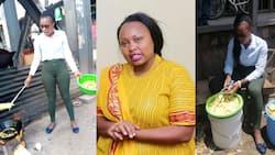 """Bevalyn Kwamboka Aliyevuma kwa Kuuza Chips na Kimini Asema Hana Machungu na Omanga: """"Nashukuru"""""""