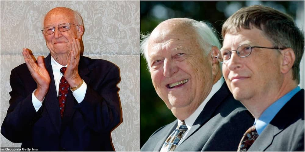 Billionaire Bill Gates loses 94-year-old father who guided his philanthropy