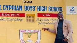 MC Jessy Returns to His Former High School, Promises to Visit Again with Goodies and Donations
