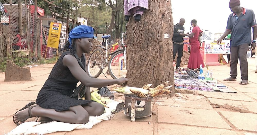 God is great: Well-wishers come to the rescue of teacher forced to roast maize in street