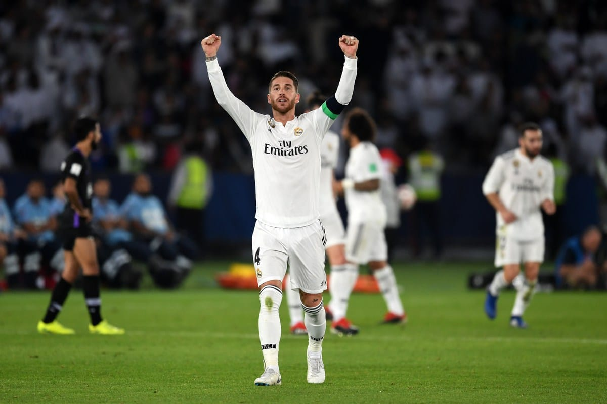 Fans boo Real Madrid captain Sergio Ramos in Club World Cup final