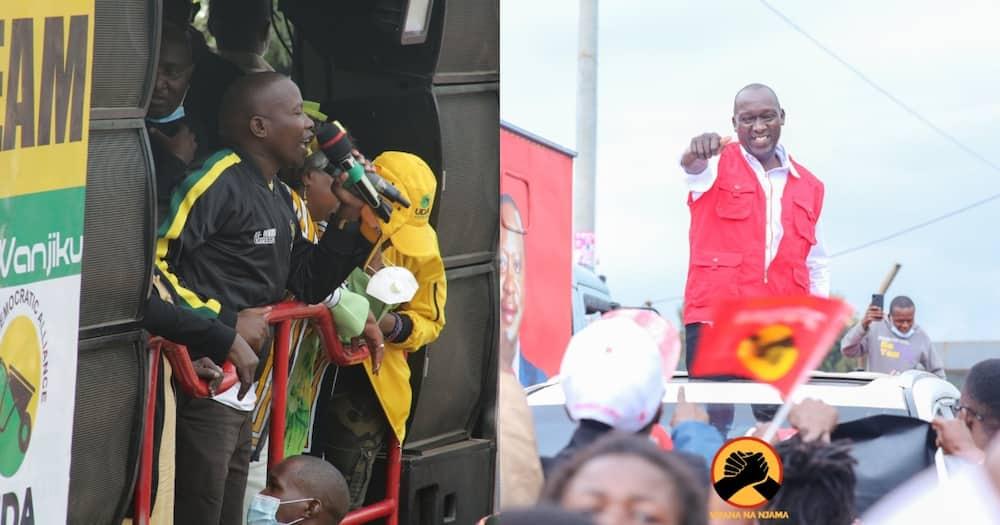 Njuguna Wanjiku and Kariri Njama (r) are viewed as the leading candidates.