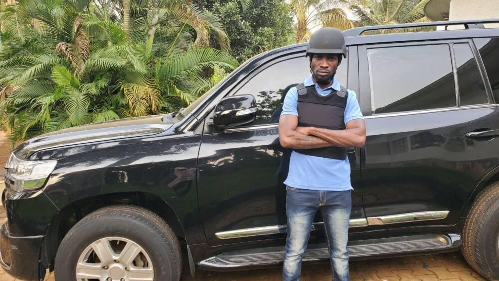 Bobi Wine under investigation for importing bulletproof car