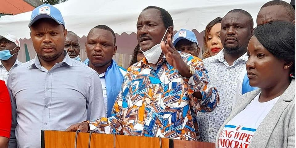 """Kalonzo asks Uhuru to surrender Sonko to him: """"He has abused you so much, I'll mentor him"""""""