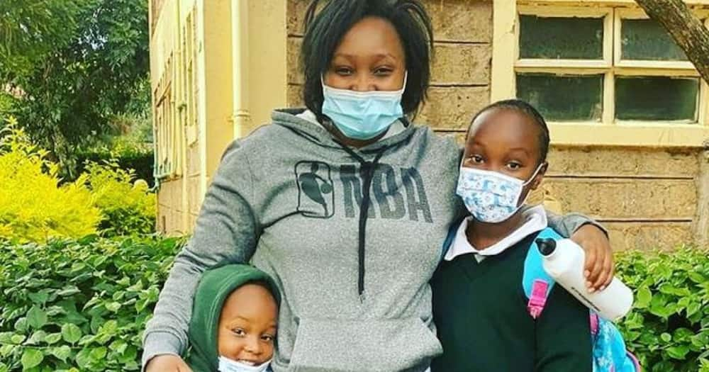 "Karen Nyamu Wishes 'Co-Wife' Edday Nderitu's Son Happy Birthday: ""Special Lil Man"""