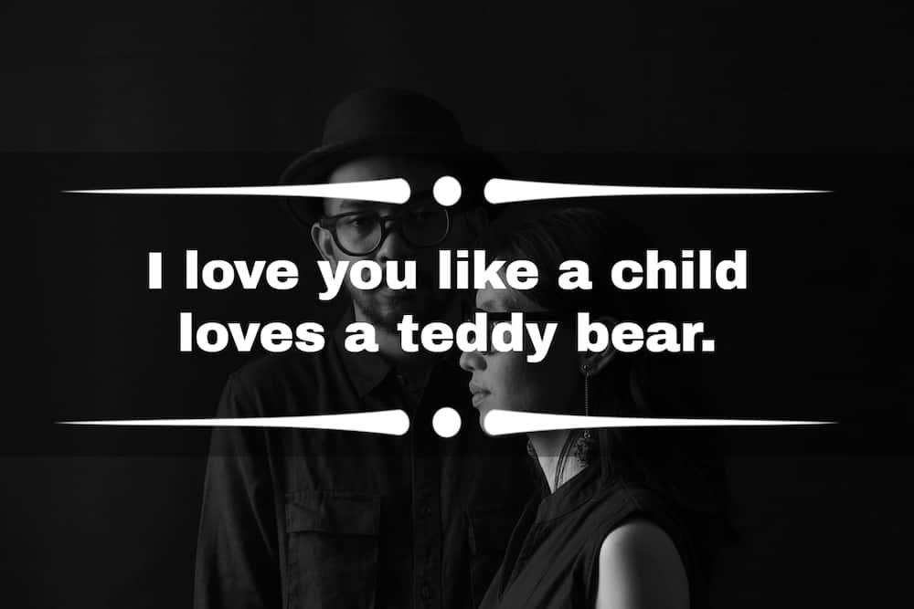 Aku mencintaimu seperti kutipan
