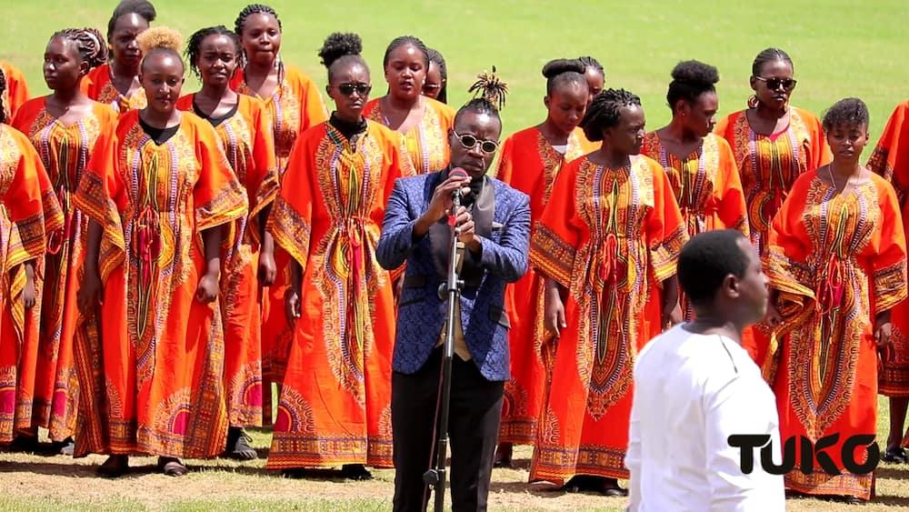 Guardian Angel put up an ecstatic performance for Uhuru during Jamhuri Day